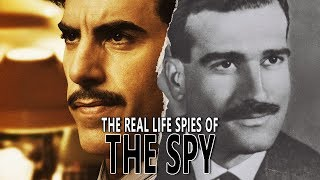 "The Real Life Spies from Netflix's ""THE SPY"""