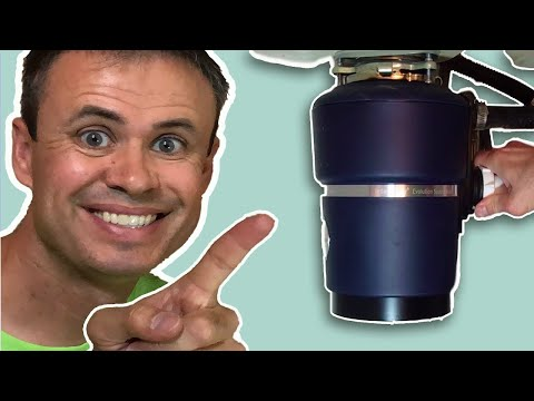 Inside a Garbage Disposal -  Fix a Jammed or Clogged Disposer