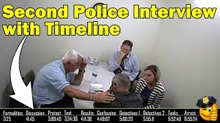 Chris Watts FULL 2nd police interview (with timeline) lie detector test and confession 8-15-18