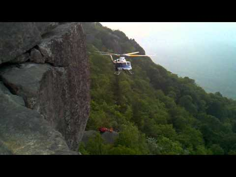 Old Rag Helicopter Extraction June 5, 2011