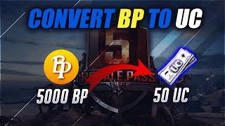 HOW TO CONVERT BC TO UC ! FREE 500 UC PACKS ! PUBG MOBILE