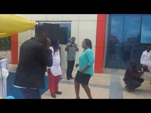joey b's mother dancing to tonga as son walks away with new car