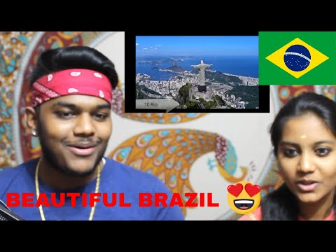 INDIANS REACT TO Top 10 Most Beautiful Places In Brazil