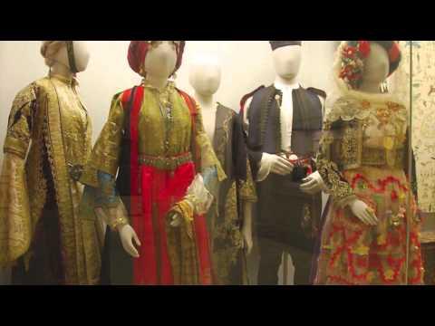 Greek Costume at the Benaki Museum, Athens, Greece