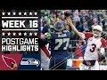 Cardinals vs. Seahawks | NFL Week 16 Game Highlights