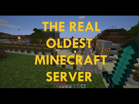 The REAL Oldest Minecraft Server (Not 2b2t)