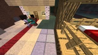 Minecraft сериал Проклятая Деревня #1 (Странности)