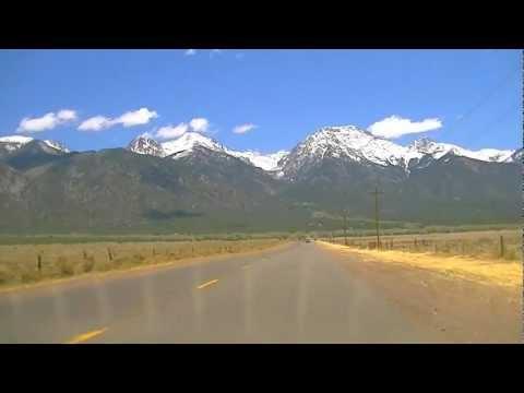 Road to Crestone, CO