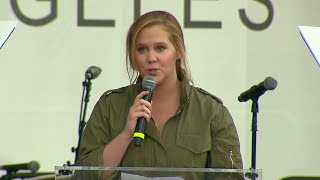 Amy Schumer Addresses March For Our Lives Crowd