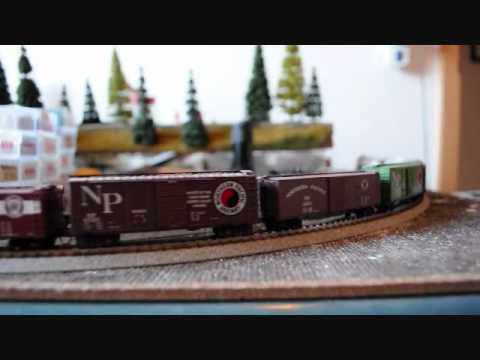 Chasing the Caboose, NP A-4 Testing