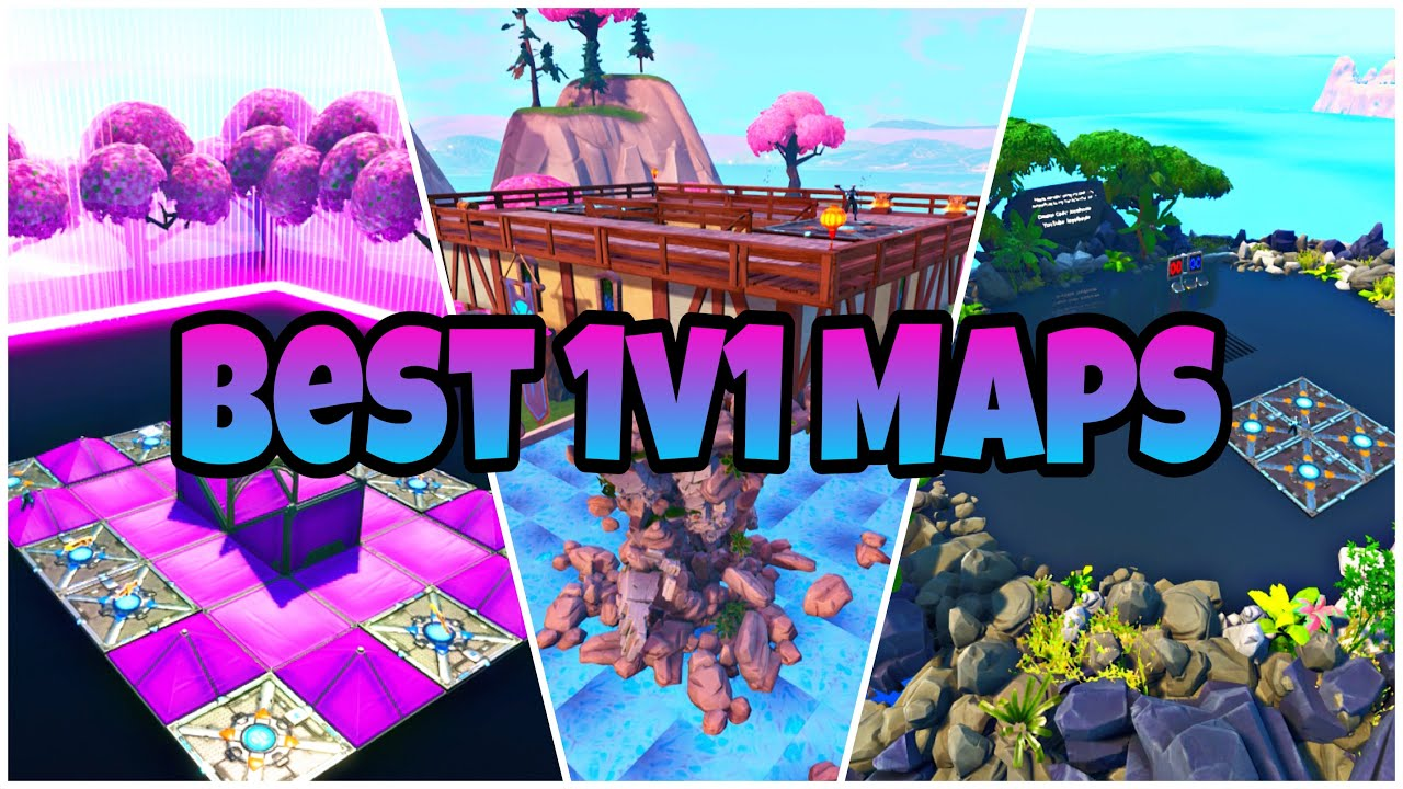 Top 5 Best 1v1 Maps In Fortnite Creative! - YouTube