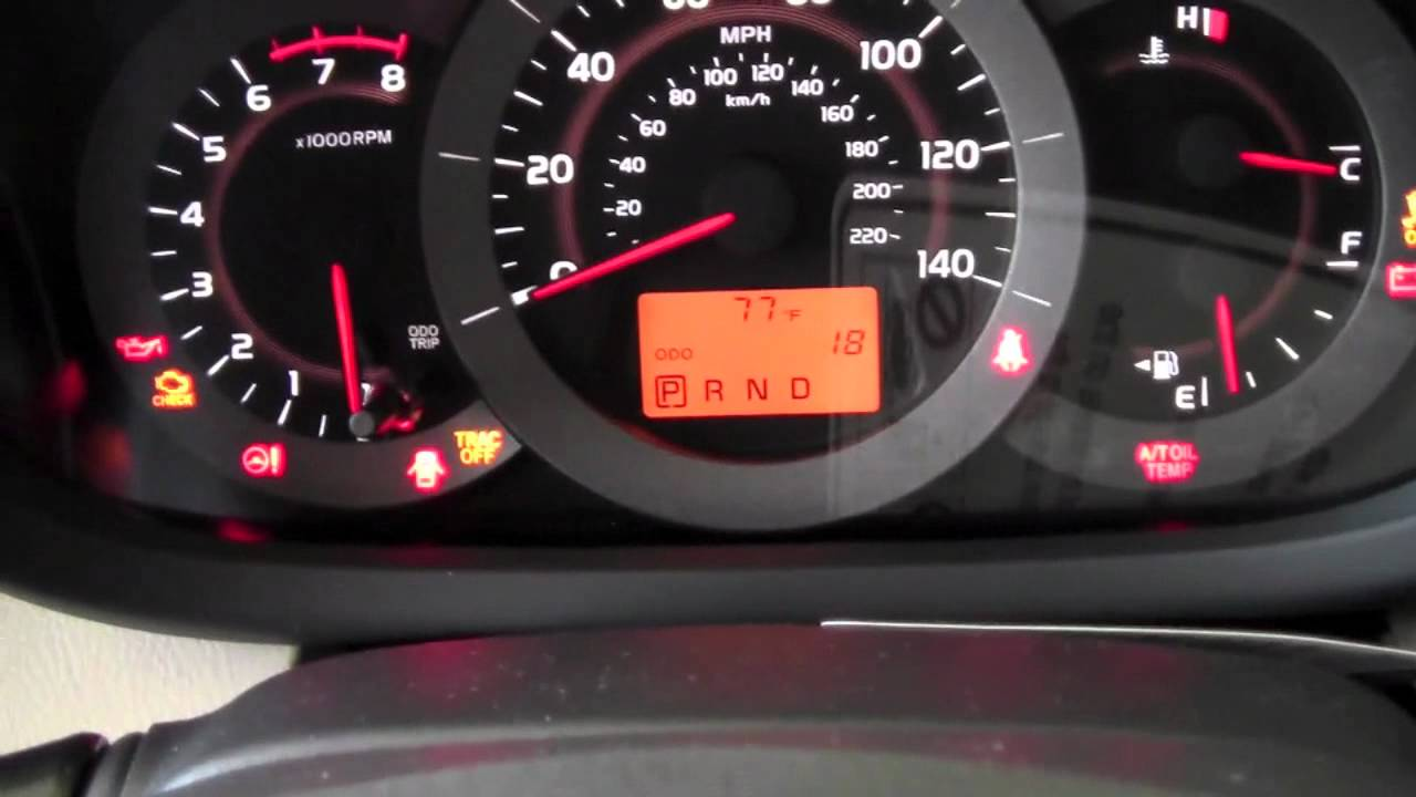 Toyota Rav4 Dash Warning Lights >> 2011 | Toyota | RAV4 | VSC & TRAC Controls | How To by Toyota City Minneapolis MN - YouTube