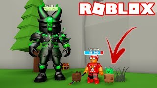 Roblox → I GOT STRONGER WITH MY EXCLUSIVE PET ► Roblox Monster Simulator 🎮