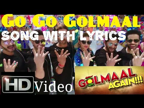 Go Go Golmaal song Lyrics|Golmaal...