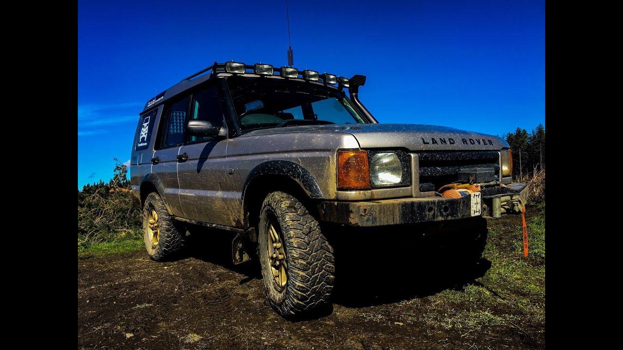 4k land rover discovery 2 td5 slayley forest off road youtube. Black Bedroom Furniture Sets. Home Design Ideas