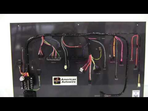 Camaro Factory Fit Dash Harness From American