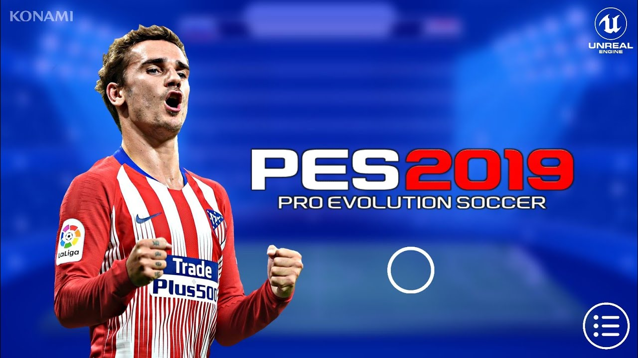 Pes 2019 Mobile Android Graphics Patch Best Graphics Youtube