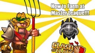 Clash of clans - How to Farm at Master League level
