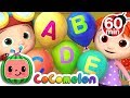 ABC Song with Balloons | +More Nursery Rhymes & Kids Songs - Cocomelon (ABCkidTV)