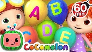 ABC Song with Balloons | +More Nursery Rhymes \u0026 Kids Songs - CoCoMelon