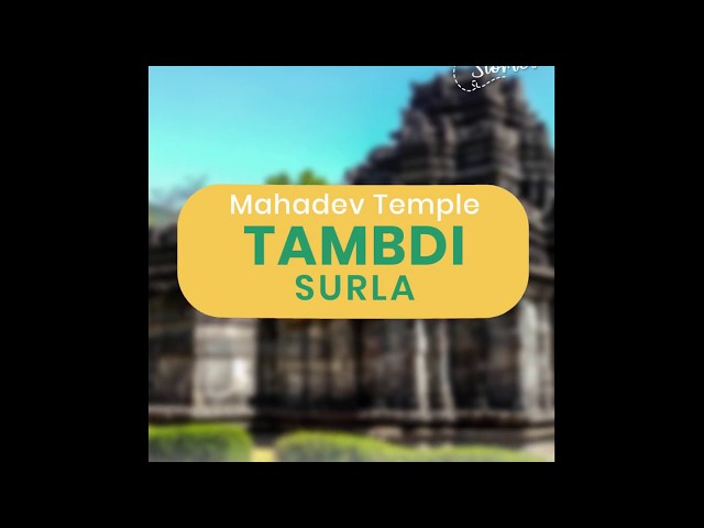 Unseen places in Goa | Mahadeva Temple | Tambdi Surla | Sun touriism