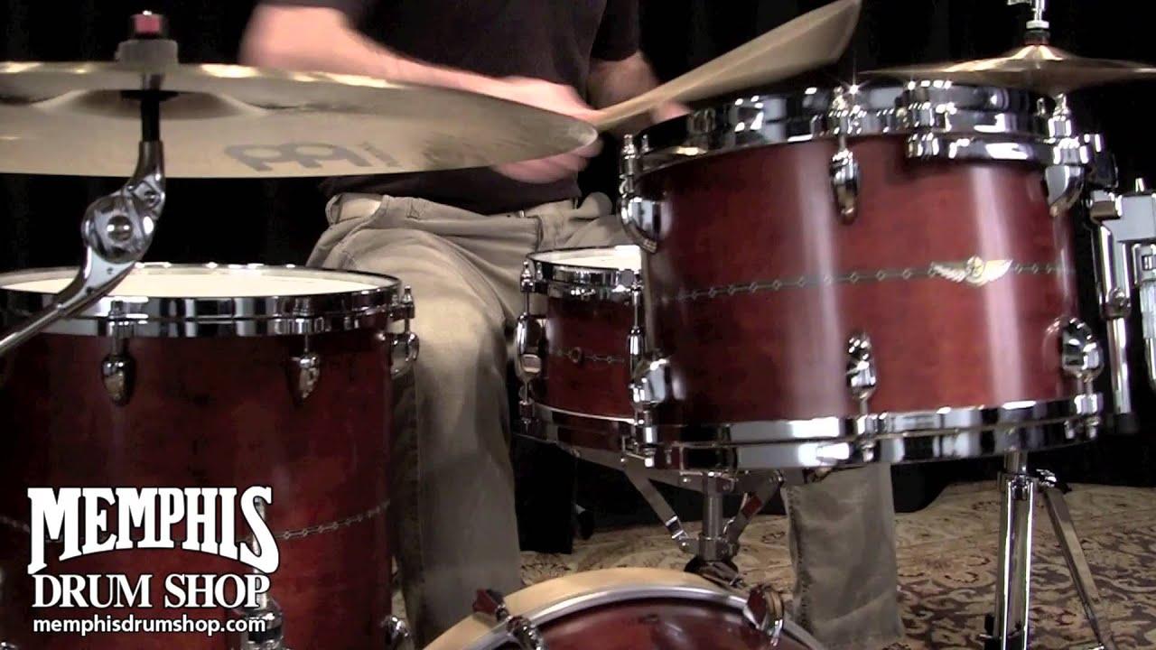 tama star maple drum set 18 12 14 14 satin gold finish youtube. Black Bedroom Furniture Sets. Home Design Ideas