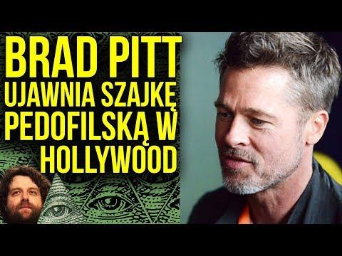 Brad Pitt ujawnia Afera Pedofilska w Hollywood