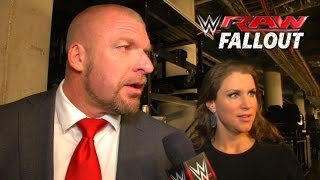 Don't Cross the Boss - Raw Fallout - January 19, 2015