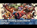 "Disney Isn't Going To ""Shut Down"" Marvel Comics...But It Will TRANSFORM It In A Way SJWs Won't Like"
