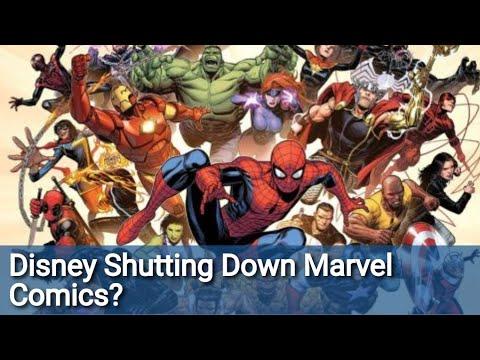 """Disney Isn't Going To """"Shut Down"""" Marvel Comics...But It Will TRANSFORM It In A Way SJWs Won't Like"""