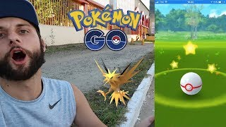 Como não errar pokebolas no Zapdos! Gameplay com Dicas! Pokémon GO