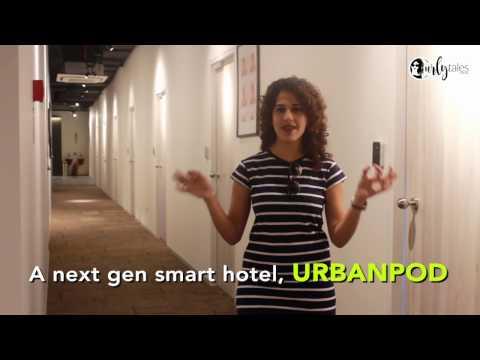 URBANPOD : India's First Pod Hotel In Mumbai | Curly Tales