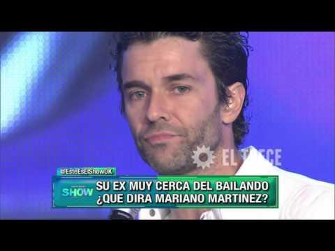 Mariano Martínez bailó cuarteto en Showmatch