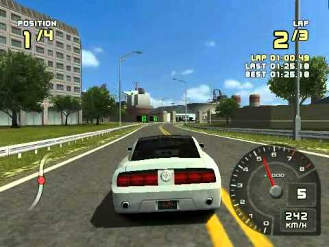 ford racing 2 for pc with my car : ford mustang gt concept