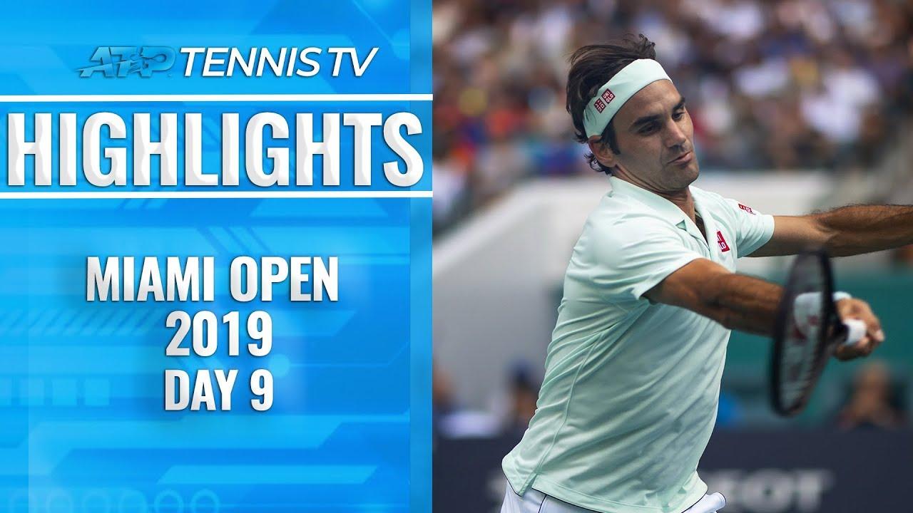 Roger Federer shines; Denis Shapovalov victor in Next Gen battle | Miami Open 2019 Highlights Day 9