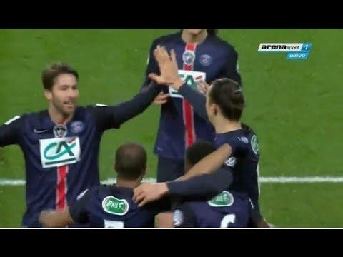Paris Saint-Germain vs Lyon  3-0 ALL GOALS Coupe de France 2016 HD