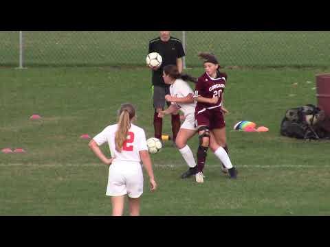 NCCS - Saranac JV Girls  10-4-18