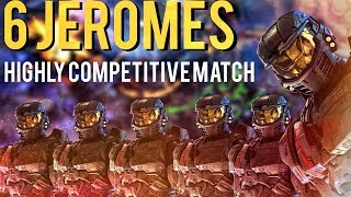 Halo Wars 2: Triple Jerome vs Triple Jerome - Competitive Match