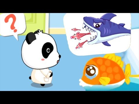 Baby Panda Kids Learning Video - Baby Panda PoliceMan + Baby Panda Hospital -  Educational Game