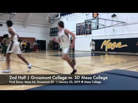 Grossmont College vs. SD Mesa College