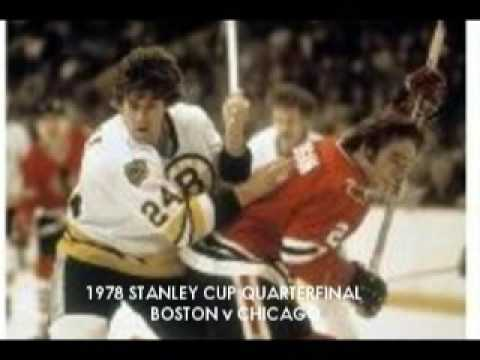 Radio Broadcast: Boston vs Chicago 1978 Stanley Cup Quarterfinals