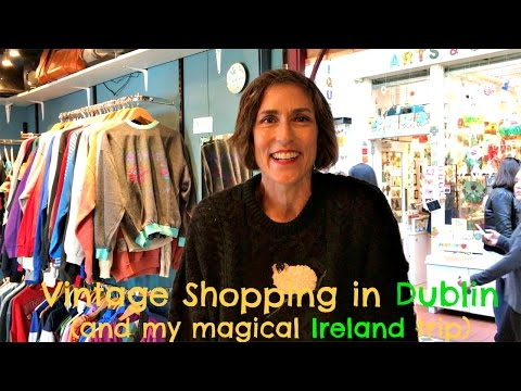 Vintage Clothing Shops in Dublin ~ My Magical Trip to Ireland