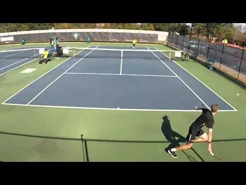 UNCW singles vs. Appalachian State court 5