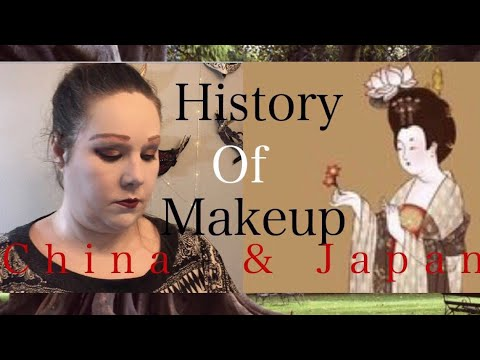 History of makeup China  Japan - YouTube - history of makeup