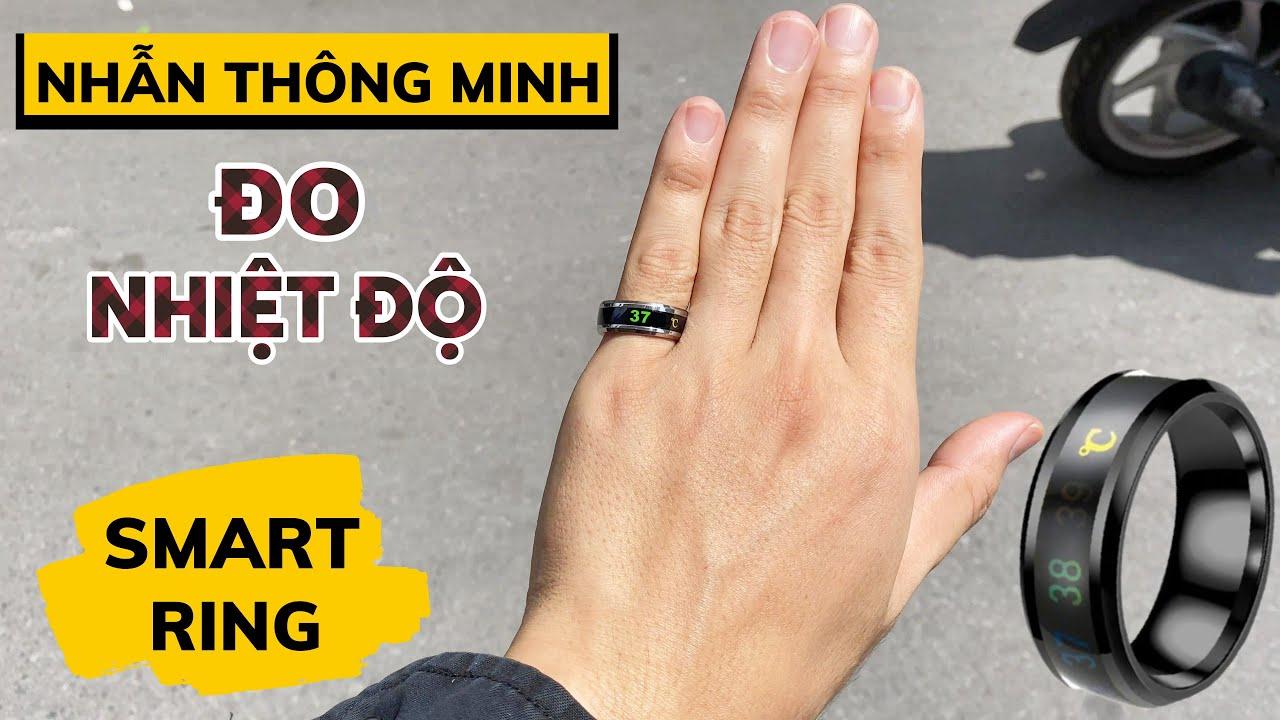 Smart Ring Bakeey Giá 100k : Nhẫn Thông Minh Đo Nhiệt Độ 24/24 !!!