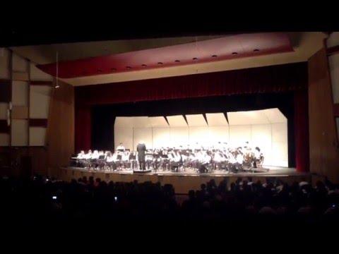 Greek Folksong Suite: Vasilikos tha jino ( East Aurora High School Concert Band)