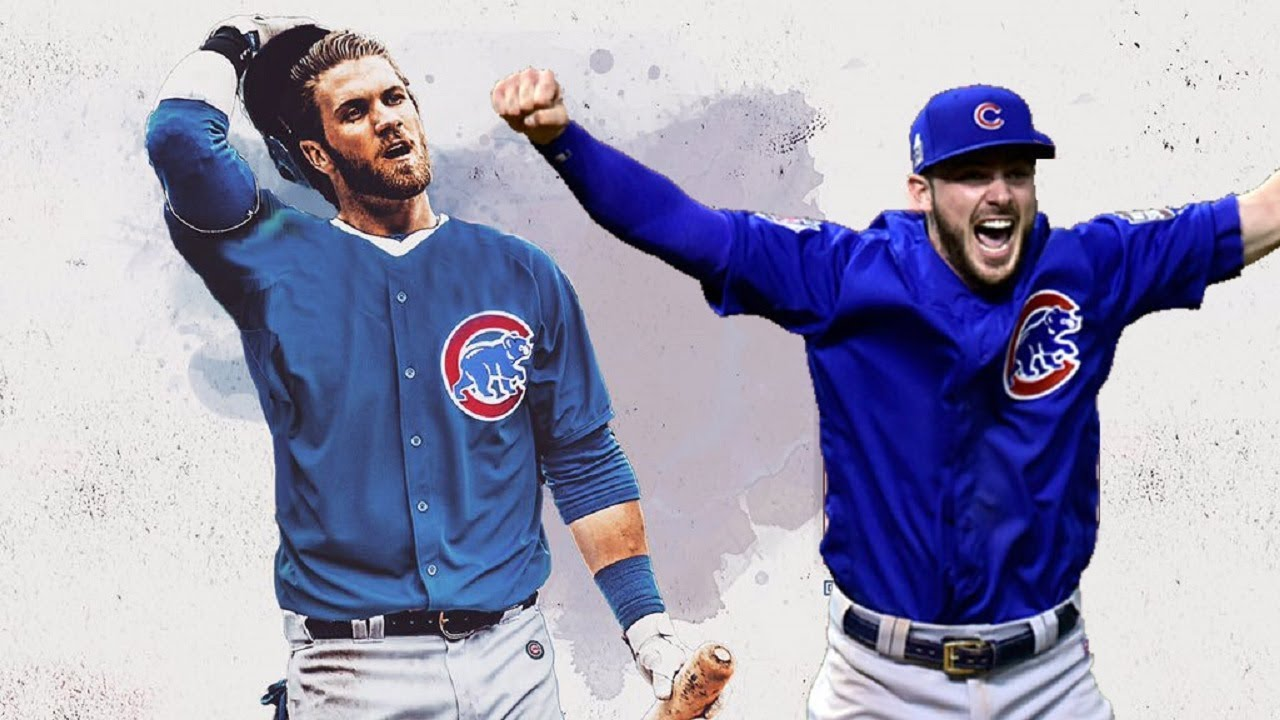 best service aa6c3 1b8fb WHAT IF BRYCE HARPER JOINED BRYANT & THE CUBS?