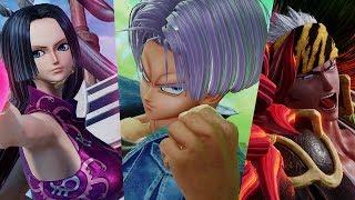 Jump Force - Future Trunks, Boa Hancock & Renji Abarai Gameplay HD Screenshots! (HD)