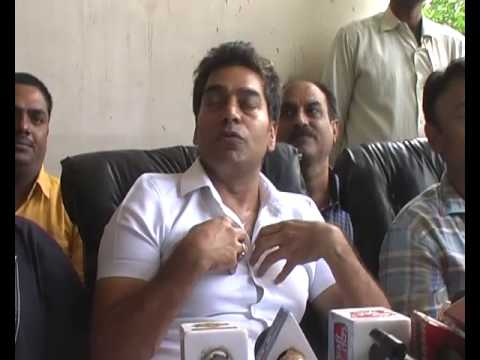 Bollywood Movie Actor Ashutosh Rana in Bilaspur Chhattisgarh PC