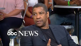 Denzel Washington shows off his singing voice
